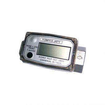Compteur / débitmètre étalonnable à turbine ATEX