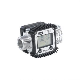 Compteur / débimètre étalonnable à turbine, référence K24-ALU