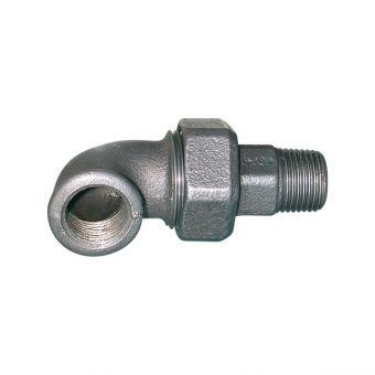 Coude union conique noir - 98 pour pompe