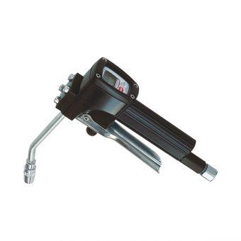 Pistolet de distribution graisse avec compteur à engrenages ovales