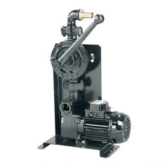 Pompe électrique avec manuelle d'amorçage et de secours