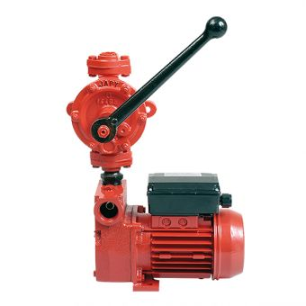Pompe électrique avec pompe manuelle d'amorçage et de secours F10020, F11020