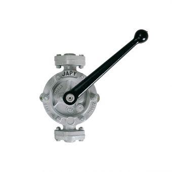 Pompe manuelle semi-rotative pour solvants non inflammables, référence HL0, HL1, HL2, HL3