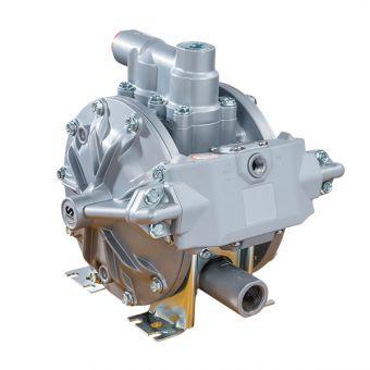 Pompe pneumatique à membranes, corps Aluminium AL1-200-PTFE-EX