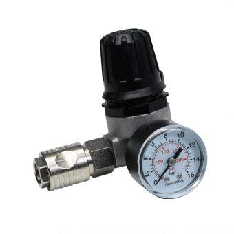 Régulateur de pression d'air avec manomètre, référence 7728